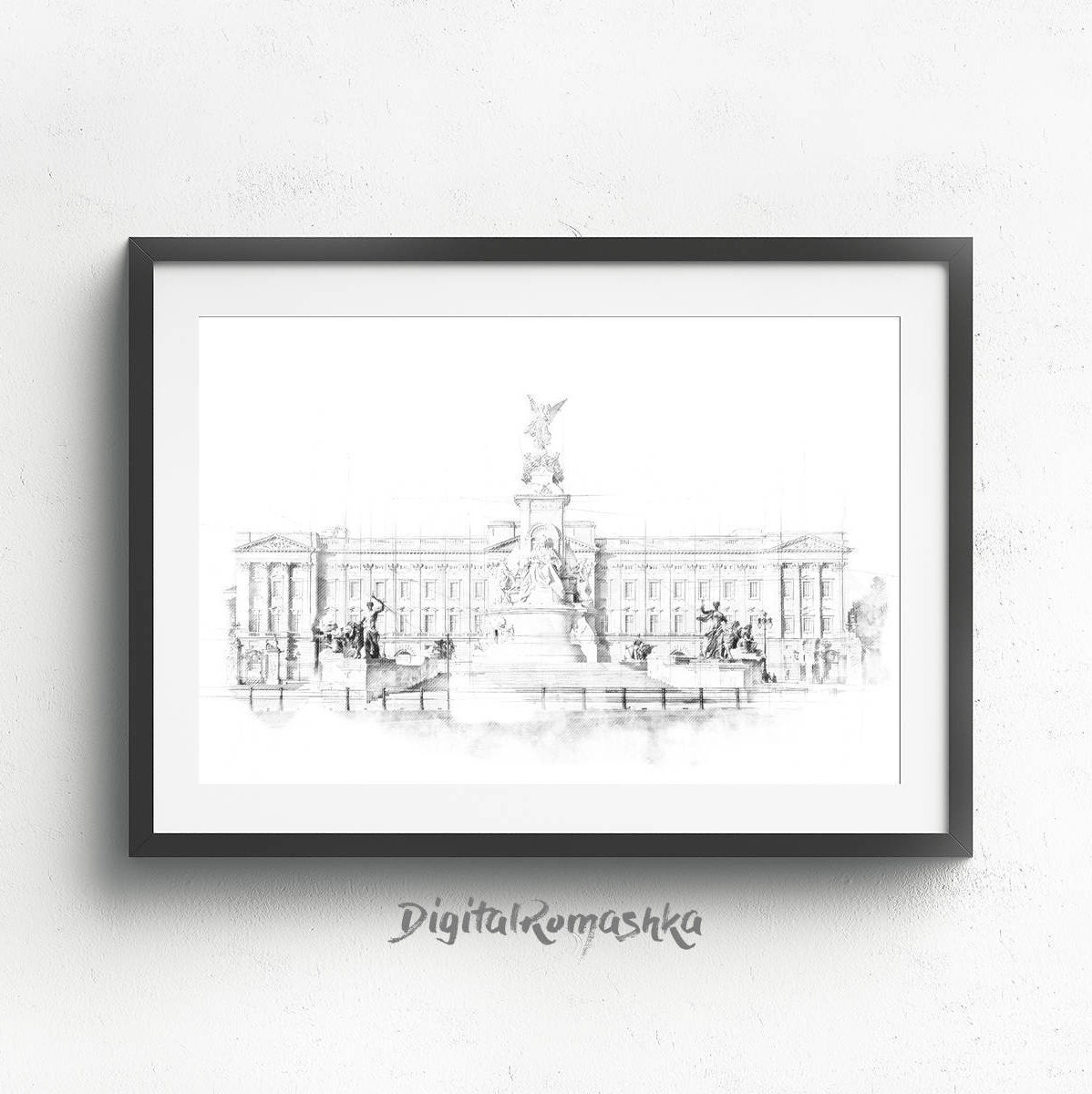 Architecture Drawing Posters london posters architectural drawing london skyline art