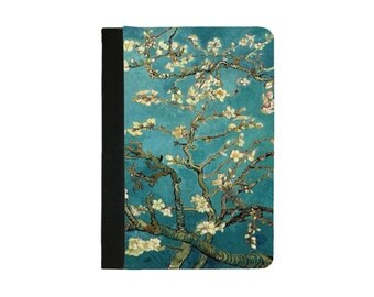 IPad Mini 1/2/3/4 Faux Leather Folio Case / Cover IPAD Mini 2 Case IPad Mini 3 case Mini 4 Case Van Gogh Almond Blossoms