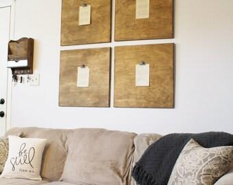 Wall Decor, Wooden Square Wall Decor, Faux Frames, Wooden Wall Decor, Farmhouse Style, Farmhouse, Modern Farmhouse