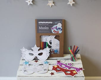 Create Your Own Superhero Mask Craft Kit