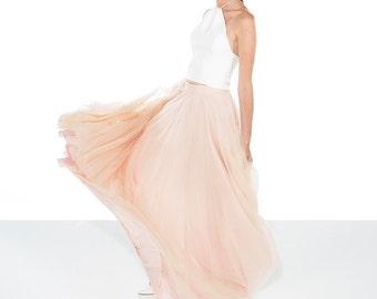 Blush Wedding Skirt / Tulle Skirt / Pink Wedding Skirt / Blush Wedding Skirt / Bridal Separates / Wedding Separates / Custom Options