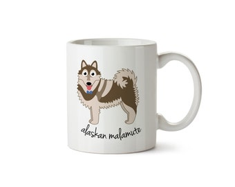 Alaskan Malamute Mug (boy)