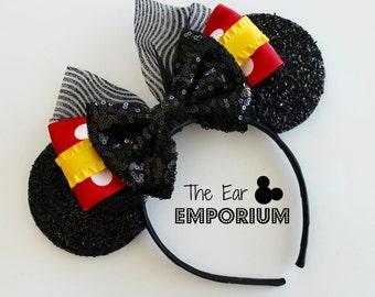 Classic Mouse Ears Headband ~ Yellow Minnie