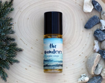 Cologne - The Wanderer - Organic Cologne - All Natural Cologne - Vegan Cologne