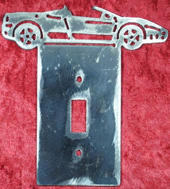 308 GT Ferrari Light Switch Cover Plate, Light Switch Cover, Double Light Switch Cover, Lighting, Auto Car Art, Sports Car, Automotive Art