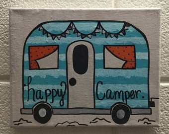 Happy Camper (Blue)