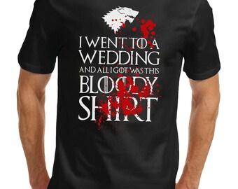 Bloody Wedding Game Of Thrones T-Shirt