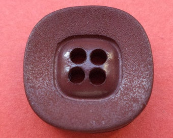 10 buttons dark brown 15mm (3855) Brown