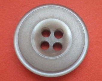 10 buttons 15mm grey (5349)