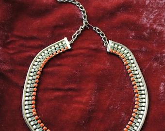 Ras neck fancy vintage necklace