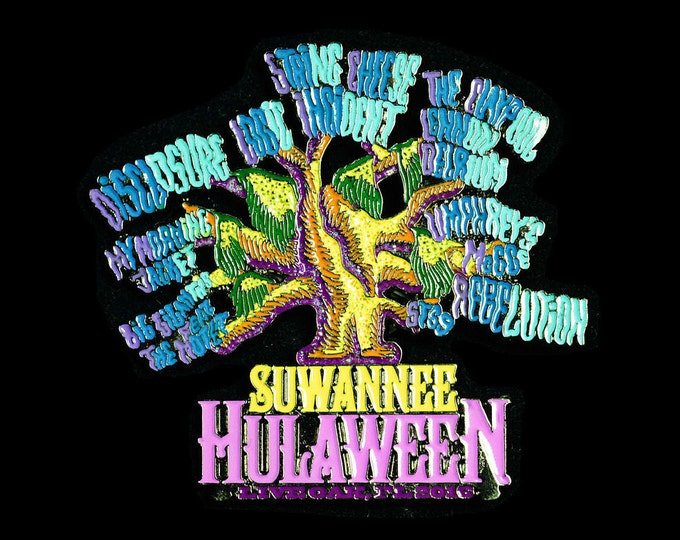 Suwannee Hulaween 2016 Pin - Lineup + Boggy Oak Tree - LE/100