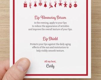 Rodan + Fields | Merry Kiss-mas 2-step Card (Customized Digital PDF)
