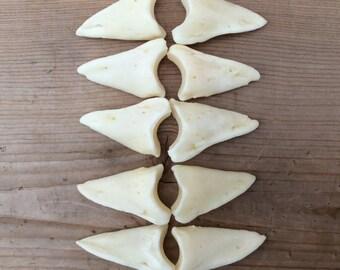 10 Deer Distal Phalanx Bones Phalanges Knuckle Bones