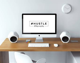 Girl Boss Desktop Wallpaper | Hustle