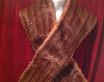 1950s Real Fur Wrap