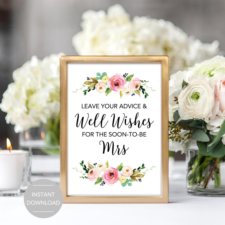 Wishing well bridal shower Etsy