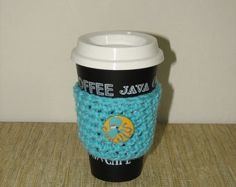Cup cozy, coffee cozy, coffee cup cozy, cup sleeve, coffee sleeve, coffee cup sleeve, crochet cup sleeve, coffee lover gift,stocking stuffer
