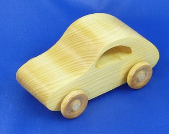 Wooden Toy Car, Wooden Car, Wood Toy, Wooden Toy, Wooden Toys, Wooden Vehicle, Wood Toy Car, Wood Car, Kids Toy, VW, Made In USA, Play Pal