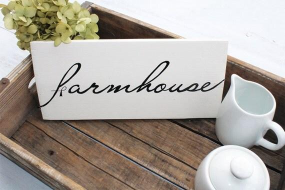 Farmhouse Sign, Farmhouse Wall Decor, Hand Painted Sign, Rustic Home Decor, Farm Decor, Wood Farm Decor, Farmhouse Decor, Rustic Wood Sign
