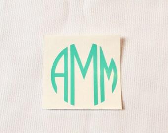 Custom Circle Monogram