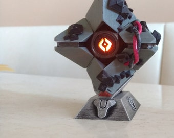 3D Printed infected Little Light With Stand (Hand Painted)
