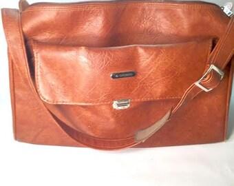 SAMSONITE Carry-On Travel Bag with Adjustable Strap, Vintage Sonora II