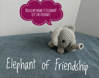Elephant of Friendship/Amigurumi