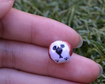 Miniature Polymer Clay Dog