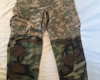 Airforce Army Split Camo Pants