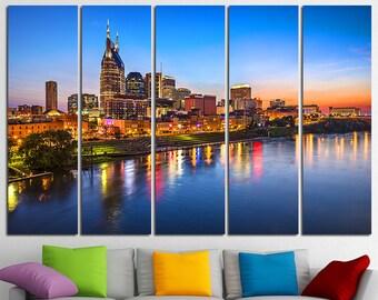 Nashville Wall Art nashville poster | etsy