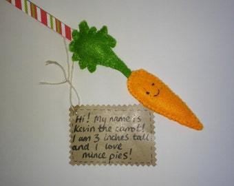 Kevin the Christmas Carrot