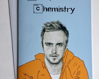 Breaking Bad Illustrative A5 Card - Jesse Pinkman/Aaron Paul