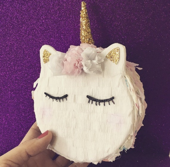 Unicorn Pinata Macaron PinataUnicorn Party Favor