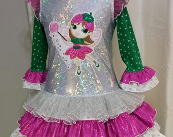 Sugar Plum Fairy twirl dress