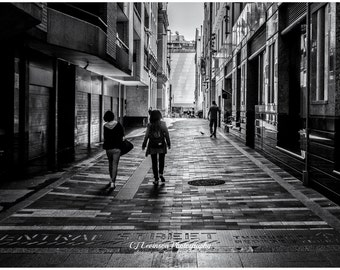 Central Street, Sydney - original photograph, digital download, street photo