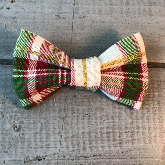 Modern DOG BOW TIE, Detachable Bow Tie, Made to Order, You Choose Color & Style!!  Pet/Puppy Bow Tie