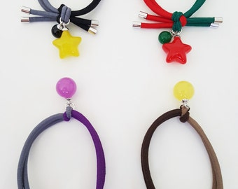 Girls Pony tail holder | Pony tail holder | Hair ties | Hair accessoires |  Elastic hair bands | Elastic hair ties | Girls hair accessories
