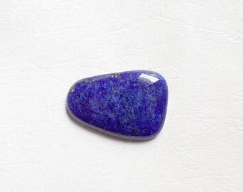 48cts Natural Blue Lapis Lazuli Jewelry Cabochon Stone 25x35mm