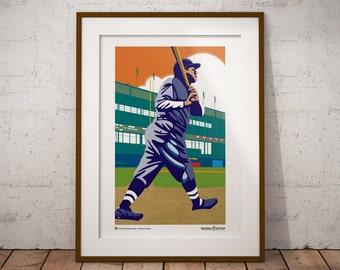 The Bambino — Babe Ruth Poster/Print