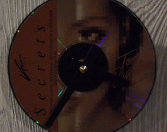 Toni Braxton CD Clock