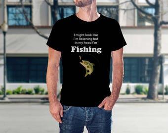 Fishing Shirts - Fishing Father Gift - Father Fishing Gift - Fishing Shirt Gift - Fishing Shirt Men - Man Fishing T-Shirt