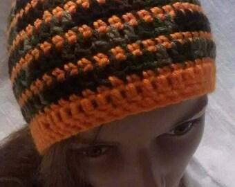 Camo stripe beanie, Camo beanie, Camo hat, crochet camo beanie, crochet camo hat, camo, hat, beanie, crochet hat, crochet beanie