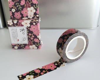 Japanese Washi tape, cherry blossoms, masking tape