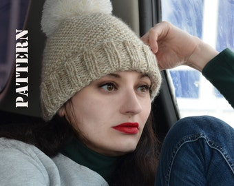 The City Hat- KNITTING PATTERN