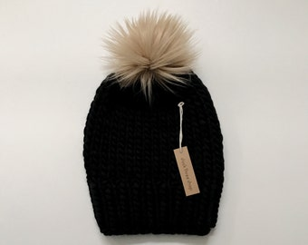 Slouchy knit toque - Adult
