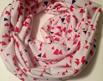 SALE Winter Triangles Infinity Scarf