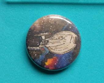 NX-01 Star Trek: Enterprise Button