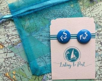 Flying Scot Sailboat Earrings