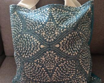 Fabric Tote Bag/ Book Bag