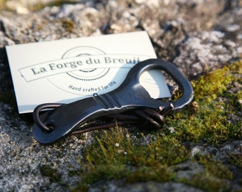 Hand forged bottle opener - The Galopin